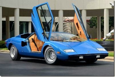 photo:1975 Lamborghini Countach LP400